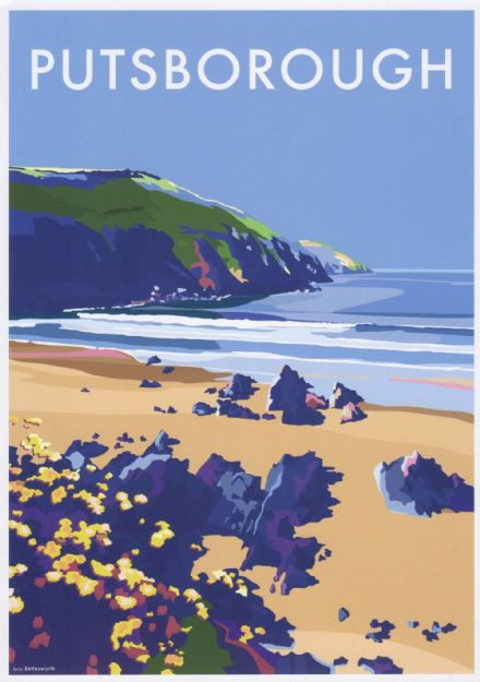 'Putsborough Sands'  Available in A4/A2 Size Print from...